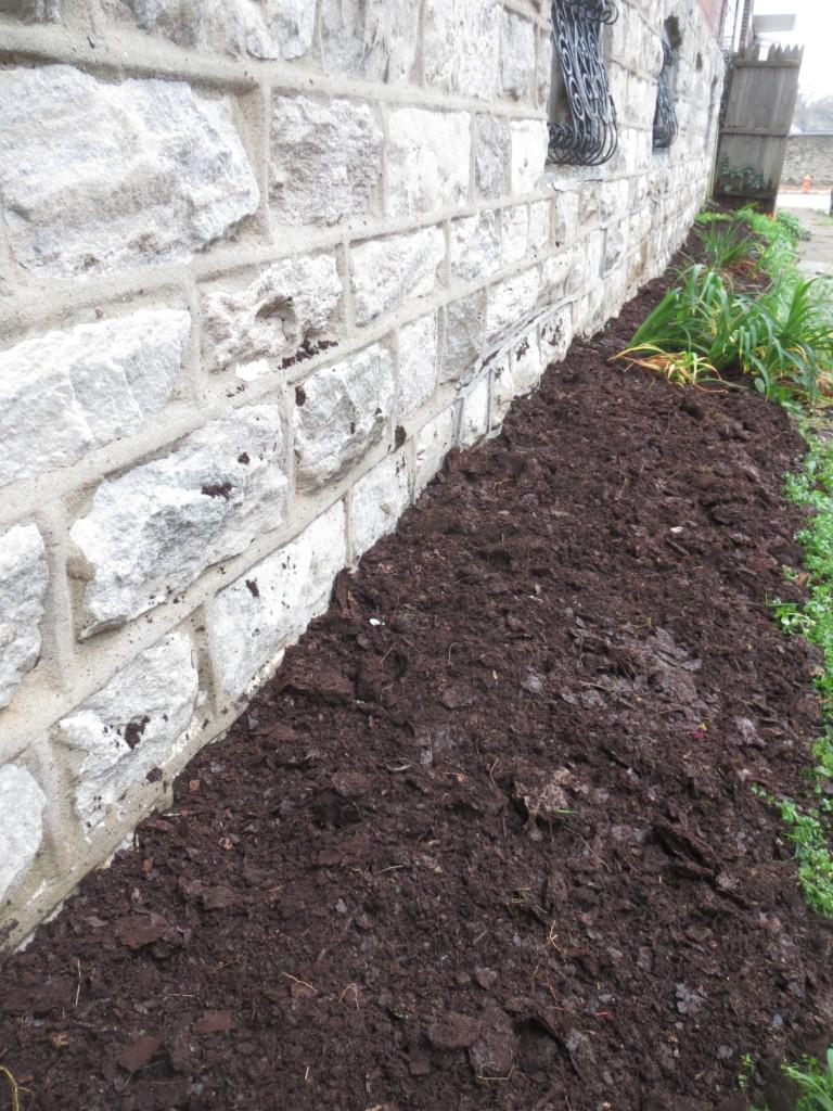 compost spread
